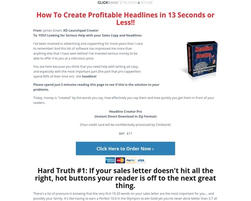 jamesmp101 x400 thumb - Headline Creator Pro Download Page — KD Launchpad - from author to Publishing Empire!