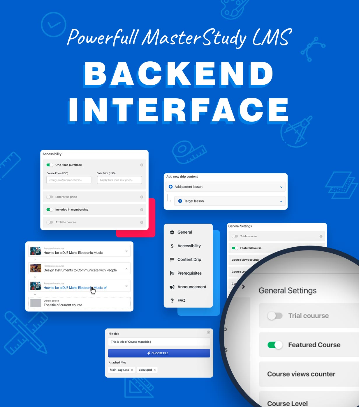 lms backend - Education WordPress Theme - Masterstudy