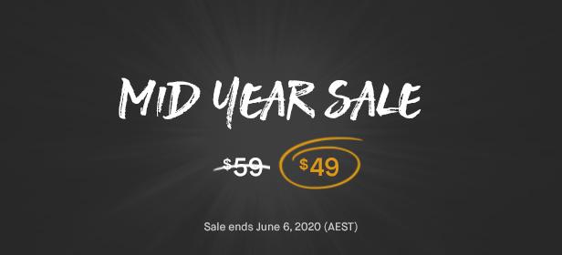 mid year sale banner - Savoy - Minimalist AJAX WooCommerce Theme