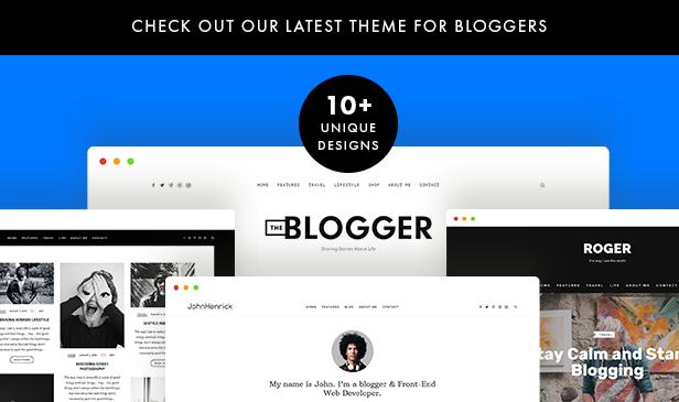new item add3 - Readme - A Readable WordPress Theme