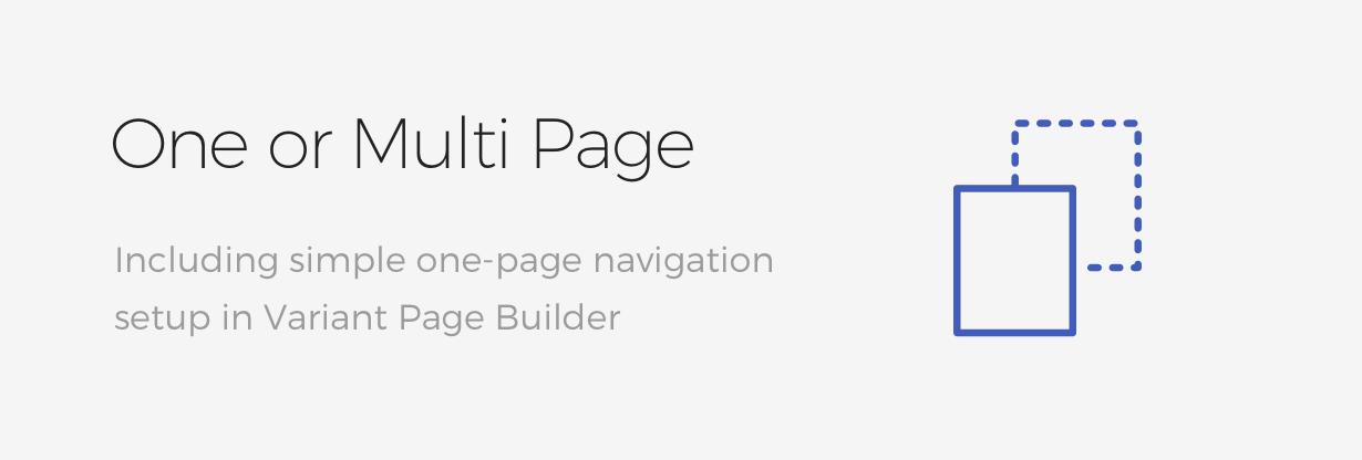 oneormulti - Pillar Multipurpose HTML + Variant Page Builder