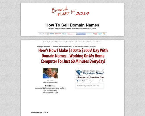 open4sale x400 thumb - NEW How To Sell Domain Names | Plain and Simple Domain Flipping & Sell My Website Guide