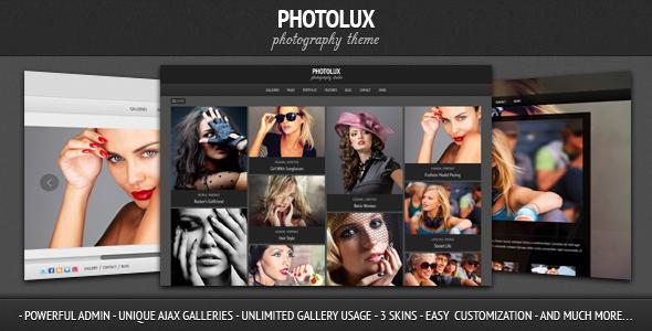 photolux preview - Dandelion - Powerful Elegant WordPress Theme