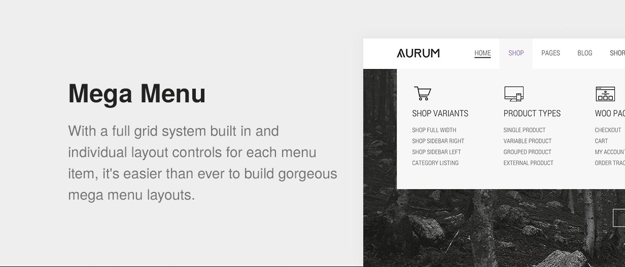 pres 8 - Aurum - Minimalist Shopping Theme