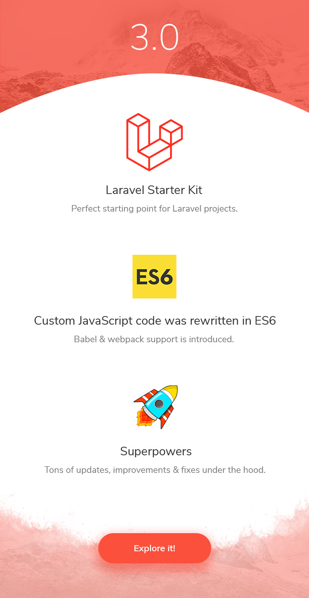 promo update 3.0f - Codebase - Bootstrap 4 Admin Dashboard Template & Laravel 7 Starter Kit
