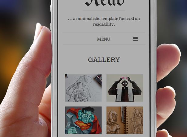 read phone 01 - Read WP - Minimalist WordPress Blog Theme