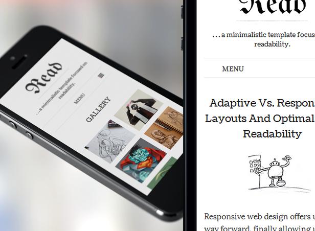 read phone 07 - Read WP - Minimalist WordPress Blog Theme