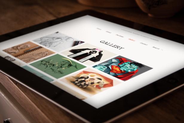 read tablet 03 - Read WP - Minimalist WordPress Blog Theme