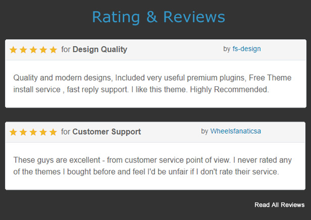 review 2 - MF - Multipurpose WordPress Theme