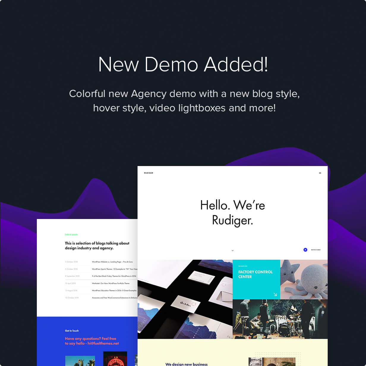 rudiger - Werkstatt - Creative Portfolio WordPress Theme