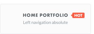 thefox home portfolio - TheFox   Responsive Multi-Purpose WordPress Theme