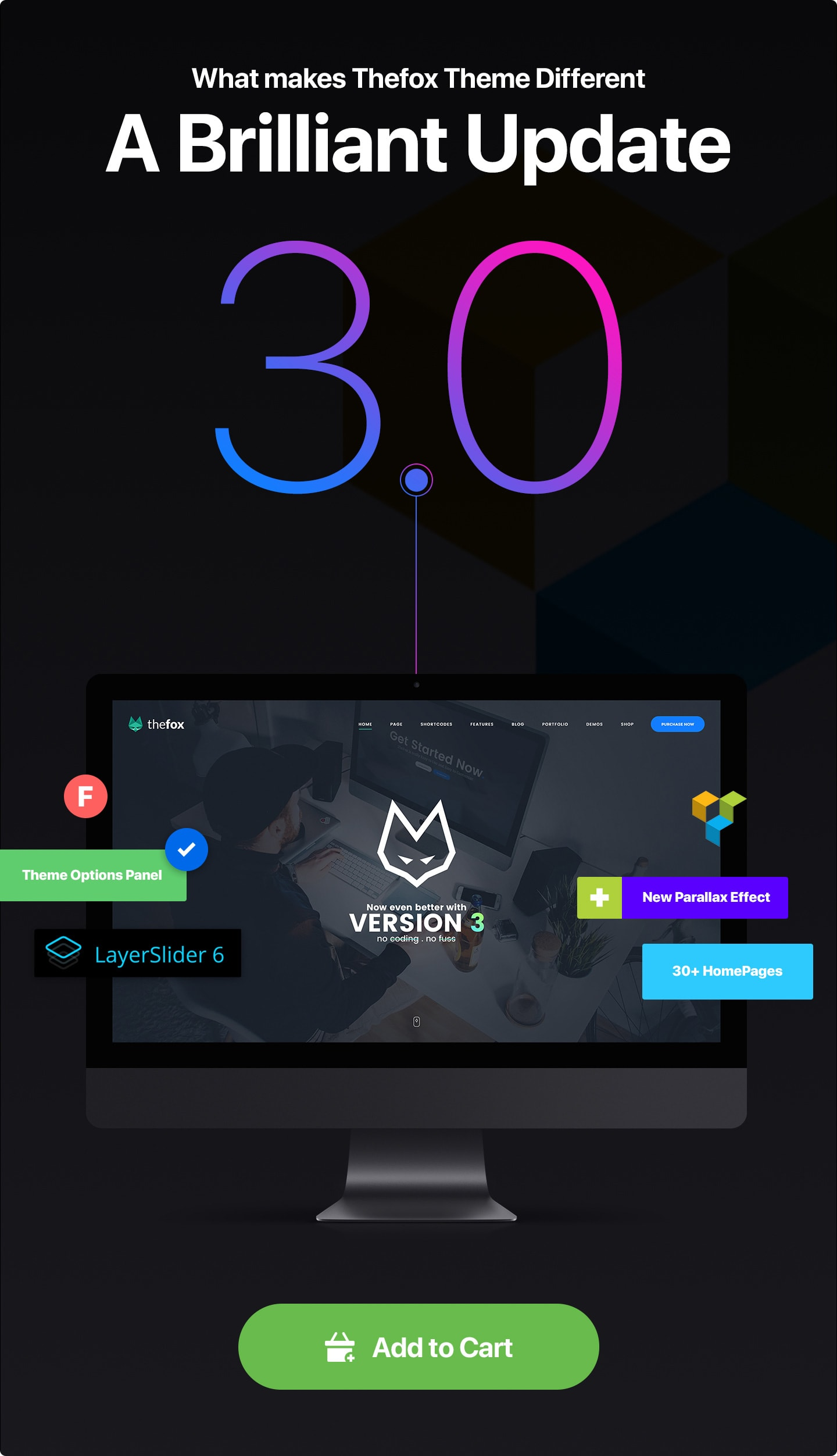 thefox wordpress theme v3 1 - TheFox   Responsive Multi-Purpose WordPress Theme