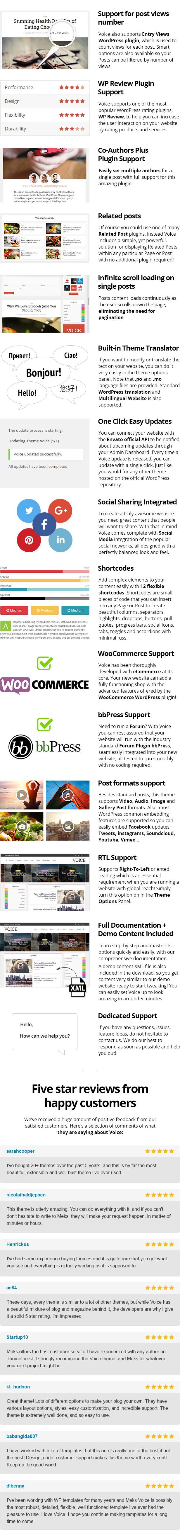 voice features part02 - Voice - News Magazine WordPress Theme