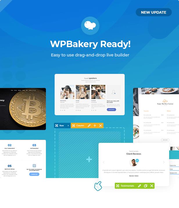 wpbakery update - Jevelin | Multi-Purpose Responsive WordPress AMP Theme