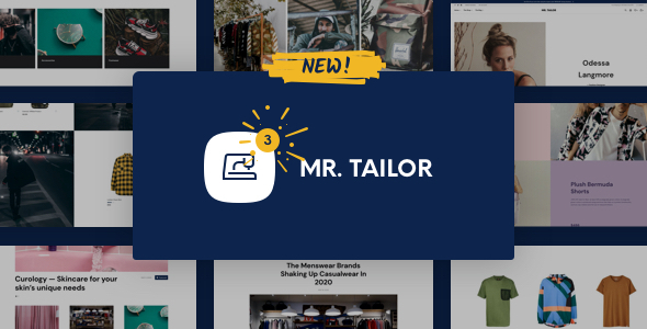 01 mr tailor theme preview.  large preview - Mr. Tailor - eCommerce WordPress Theme for WooCommerce