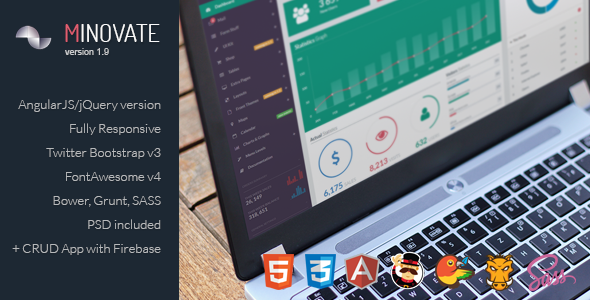 01 preview1.  large preview - Minovate - Angular Admin Dashboard