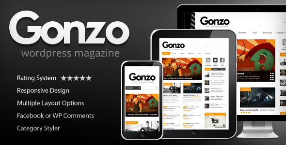 01 promo.  large preview - Gonzo -  Clean, Responsive WP Magazine