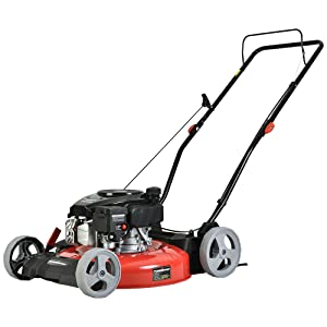 0d6e2d93 e8d1 40e3 8210 ec4219586feb.  CR0,0,1000,1000 PT0 SX300 V1    - PowerSmart Lawn Mower, 21-inch & 170CC, Gas Powered Push Lawn Mower with 4-Stroke Engine, 2-in-1 Gas Mower in Color Red/Black, 5 Adjustable Heights (1.18''-3.0''), DB2321CR