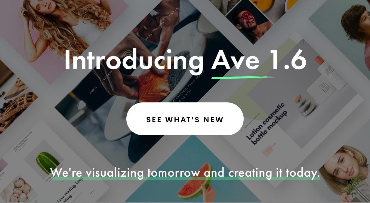 1.6 new 2 - Ave - Responsive Multi-Purpose WordPress Theme