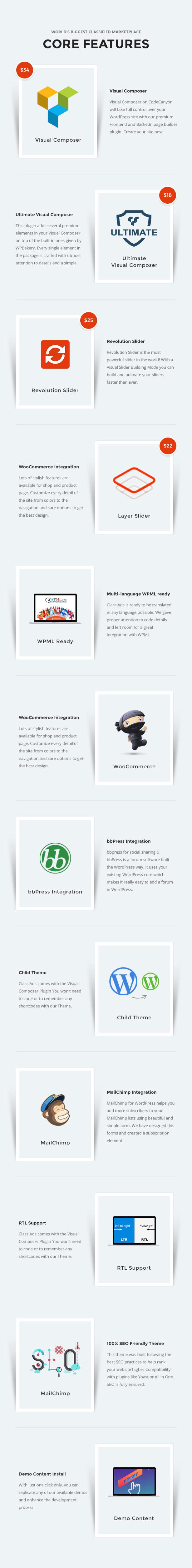 10 - Classiads - Classified Ads WordPress Theme
