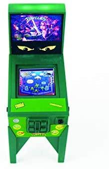 1602402831 622 41LuufLT+pL. AC  - Boardwalk Arcade Teenage Mutant Ninja Turtles Electronic Pinball, Multi