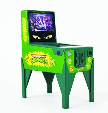 1602402834 41UUDeylERL. AC  427x445 - Boardwalk Arcade Teenage Mutant Ninja Turtles Electronic Pinball, Multi