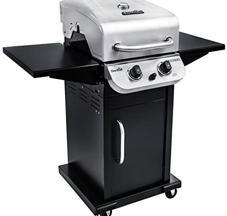 1602842009 414AZqubbxL. AC  468x445 - Char-Broil 463673519 Performance Series 2-Burner Cabinet Liquid Propane Gas Grill, Stainless Steel