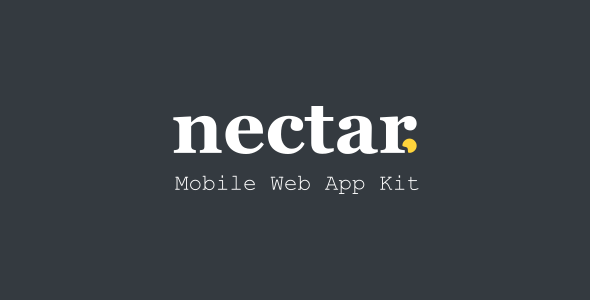 1603408553 223 01 preview.  large preview - Nectar - Mobile Web App Kit