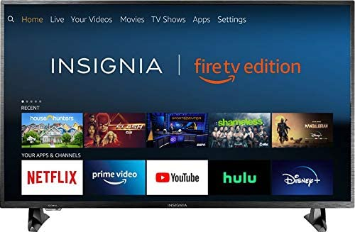 1603458233 41ZoJhMEP7L. AC  - Insignia NS-32DF310NA19 32-inch Smart HD TV - Fire TV Edition