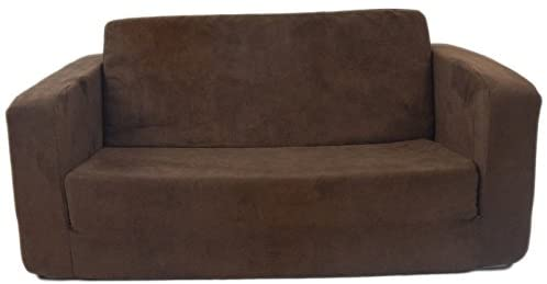 1603632353 41gpxjC7WnL. AC  - Fun Furnishings Toddler Flip Sofa, Brown