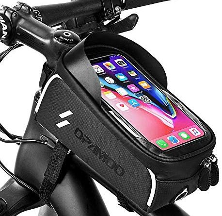 1604075876 51qHNQyrs9L. AC  458x445 - Bike Phone Front Frame Bag - Waterproof Bicycle Top Tube Cycling Phone Mount Pack Phone Case for 6.5'' iPhone Plus xs max