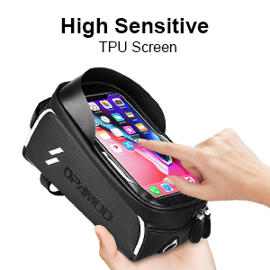 17d1e050 dda8 45a1 873f 52f337df6613.  CR0,0,300,300 PT0 SX300 V1    - Bike Phone Front Frame Bag - Waterproof Bicycle Top Tube Cycling Phone Mount Pack Phone Case for 6.5'' iPhone Plus xs max