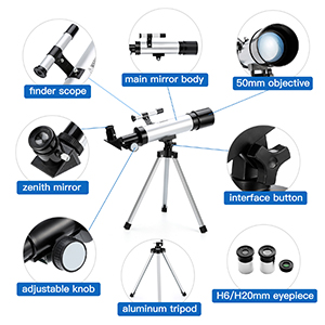 268e749a 3774 4a14 a487 8f8ba967822a.  CR0,0,300,300 PT0 SX300 V1    - Telescope Star Finder with Tripod F36050 HD Zoom Monocular Space Astronomical Spotting Scope for Kids and Beginner (Small)