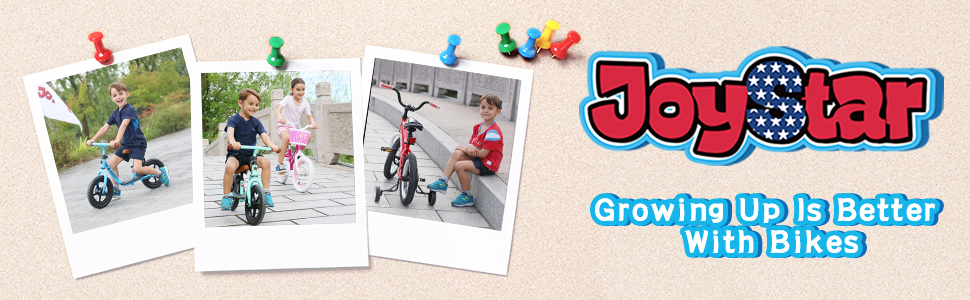 2b7f95b9 2761 4dfe 8313 b604cc8fdfbc.  CR0,0,970,300 PT0 SX970 V1    - JOYSTAR Totem Kids Bike with Training Wheels for 12 14 16 18 inch Bike, Kickstand for 18 inch Bike (Blue Ivory Pink Green Silver)
