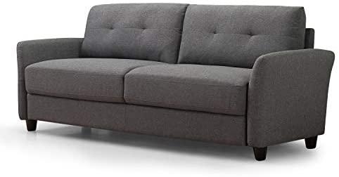 31IN6ZGBpmL. AC  - Zinus Ricardo, Sofa, Dark Grey