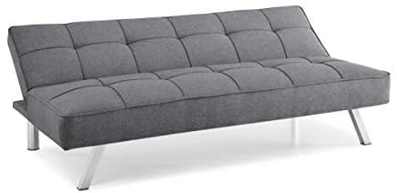 31QrW2tJCxL. AC  - Serta RNE-3S-CC-SET Rane Collection Convertible Sofa, L66.1 x W33.1 x H29.5, Charcoal