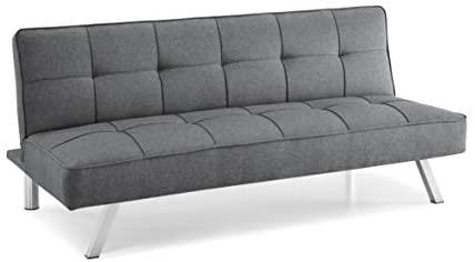 31enUG 113L. AC  - Serta RNE-3S-CC-SET Rane Collection Convertible Sofa, L66.1 x W33.1 x H29.5, Charcoal