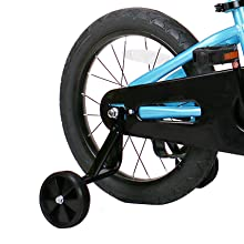 32a99037 b314 4a6c a3d5 ef53c032d058.  CR0,1,422,422 PT0 SX220 V1    - JOYSTAR Totem Kids Bike with Training Wheels for 12 14 16 18 inch Bike, Kickstand for 18 inch Bike (Blue Ivory Pink Green Silver)