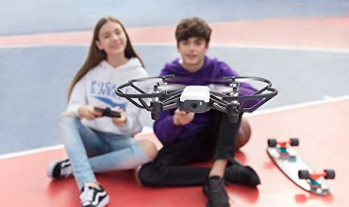 410 oL8uT4L. AC  - Ryze Tech Tello - Mini Drone Quadcopter UAV for Kids Beginners 5MP Camera HD720 Video 13min Flight Time Education Scratch Programming Toy Selfies, powered by DJI, White
