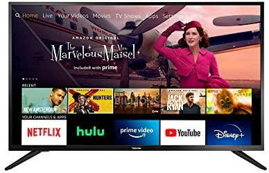 412iN3N1R2L. AC  - All-New Toshiba 43LF421U21 43-inch Smart HD 1080p TV - Fire TV Edition, Released 2020