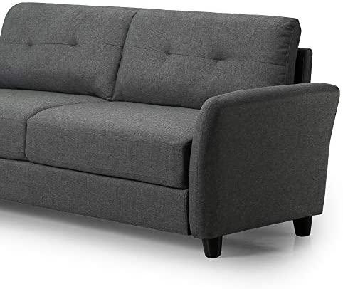 412wDku G L. AC  - Zinus Ricardo, Sofa, Dark Grey