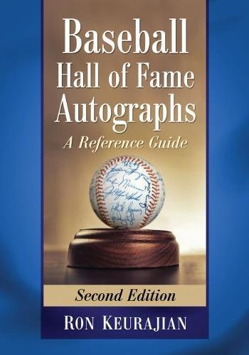 413pfY8sq9L - Baseball Hall of Fame Autographs: A Reference Guide, 2d ed.