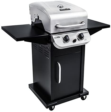 414AZqubbxL. AC  - Char-Broil 463673519 Performance Series 2-Burner Cabinet Liquid Propane Gas Grill, Stainless Steel