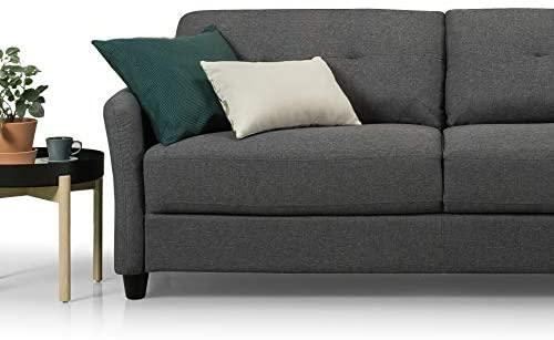 41MGLmdGpxL. AC  - Zinus Ricardo, Sofa, Dark Grey