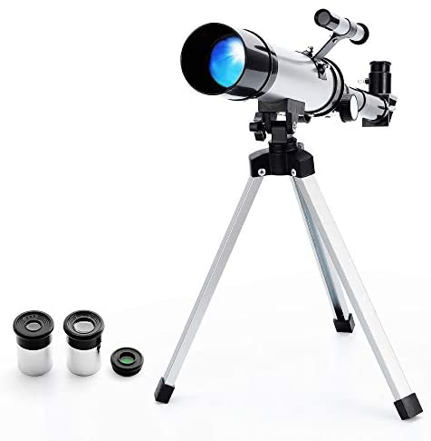 41N+9XR3 NL. AC  - Telescope Star Finder with Tripod F36050 HD Zoom Monocular Space Astronomical Spotting Scope for Kids and Beginner (Small)