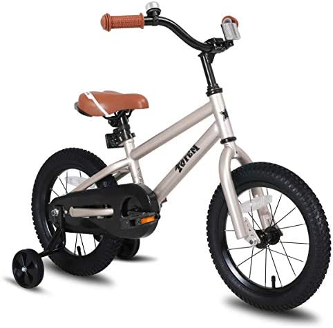 41YSqqjV41L. AC  - JOYSTAR Totem Kids Bike with Training Wheels for 12 14 16 18 inch Bike, Kickstand for 18 inch Bike (Blue Ivory Pink Green Silver)