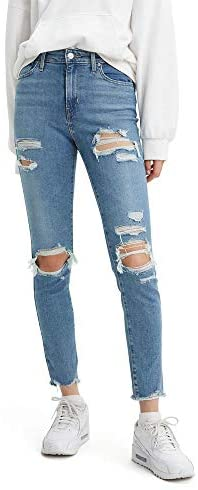 41v2bRoBbgL. AC  - Levi's Women's 721 High Rise Skinny Jeans