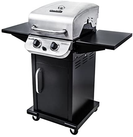 41vMK7 pKBL. AC  - Char-Broil 463673519 Performance Series 2-Burner Cabinet Liquid Propane Gas Grill, Stainless Steel