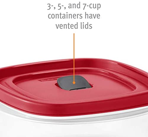 41wdSjPJ+qL. AC  - Rubbermaid Easy Find Vented Lids Food Storage Containers, Set of 30 (60 Pieces Total), Racer Red
