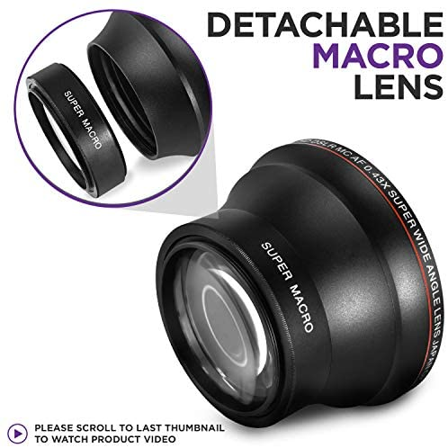 51 taBc7iAL. AC  - 58MM 0.43x Altura Photo Professional HD Wide Angle Lens (w/Macro Portion) for Canon EOS 70D 77D 80D Rebel T7 T7i T6i T6s T6 SL2 SL3 DSLR Cameras